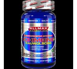 AllMax - Yohimbine + Rauwolscine / 60 caps. Хранителни добавки, Отслабване, Йохимбин