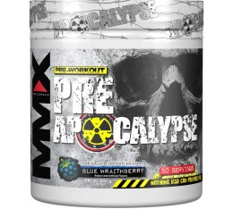 MuscleMax MMX Apocalypse Prework / 320гр. Хранителни добавки, Сила и възстановяване, Енергийни продукти