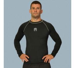 AmerFoot - Рашгард с дълъг ръкав / Сив Кант Бойни спортове и MMA, Спортни облекла и Дрехи, Рашгарди