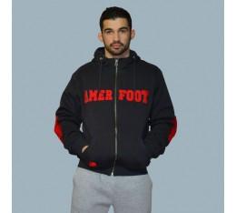 AmerFoot - Суитчър - Bаckbreaker / Червено Спортни облекла и Дрехи, Суитчъри и блузи