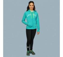 AmerFoot - Суитчър - Full Zip - Top / Зелено Спортни облекла и Дрехи, Суитчъри и блузи