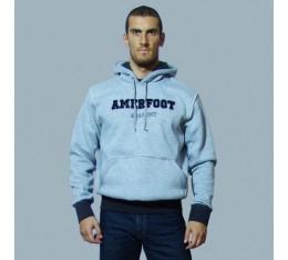 AmerFoot - Суитчър - Kangaroo Winter / Сиво Спортни облекла и Дрехи, Суитчъри и блузи