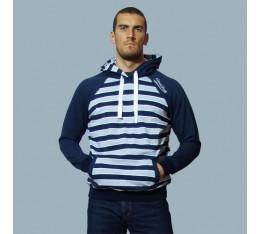 AmerFoot - Суитчър - Vintage Striped / Синьо Спортни облекла и Дрехи, Суитчъри и блузи