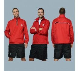 AmerFoot - Яке-ветровка / Червено Спортни облекла и Дрехи, Суитчъри и блузи, Други облекла