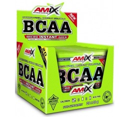 Amix - BCAA Micro-Instant Juice / 20 pieces Хранителни добавки, Аминокиселини, Разклонена верига (BCAA)