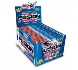 Amix - Whey Pure Fusion / 20 x 30g. Хранителни добавки, Протеини, Суроватъчен протеин