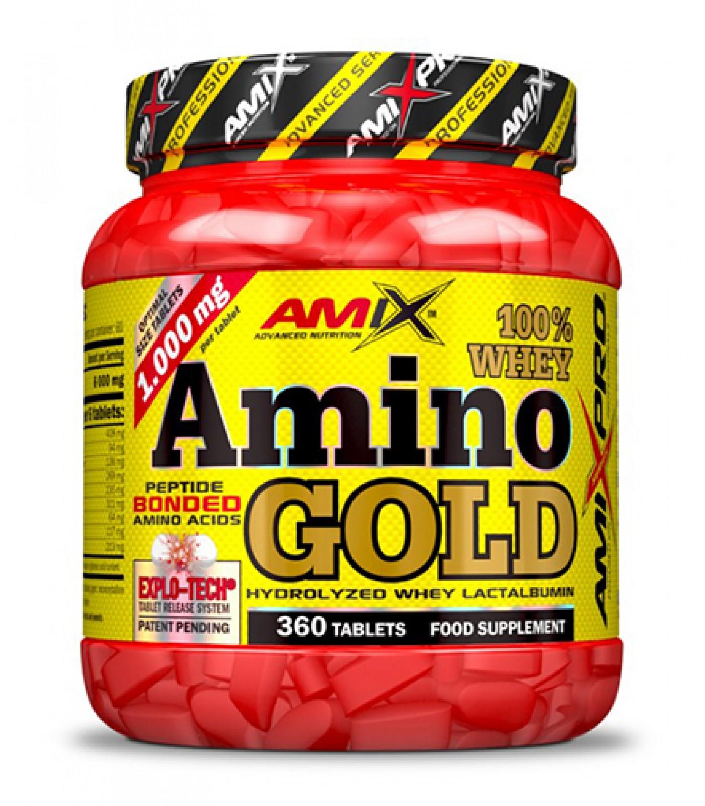 AMIX - Amino Whey Gold / 360 Tabs.