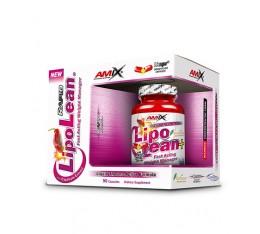 Amix - LipoLean / 90caps. Хранителни добавки, Отслабване, Фет-Бърнари