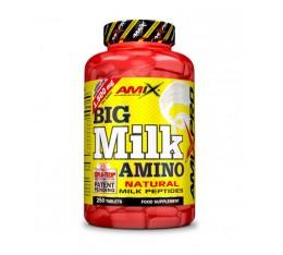 AMIX - Big Milk Amino / 250 Tabs. Хранителни добавки, Аминокиселини, Комплексни аминокиселини