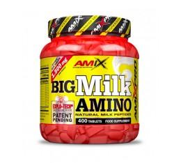 AMIX - Big Milk Amino / 400 Tabs. Хранителни добавки, Аминокиселини, Комплексни аминокиселини