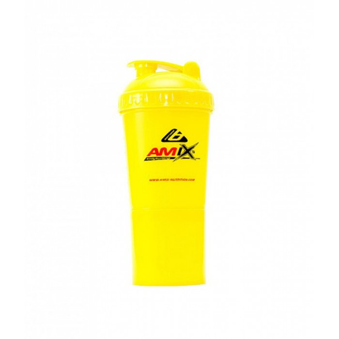 Amix - Шейкър Monster Bottle / Жълт