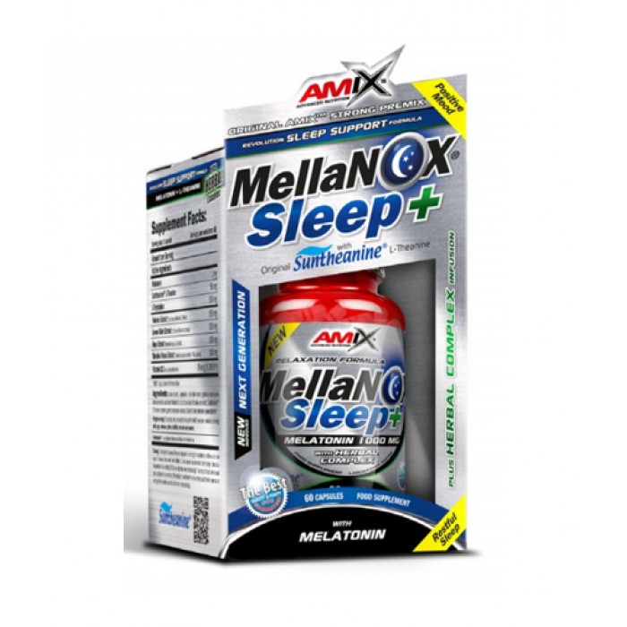 Amix - Mellanox® Sleep+ / 60 Caps.
