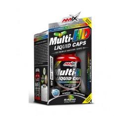 Amix - Multi-HD Liquid Caps / 60 Caps. Хранителни добавки, Витамини, минерали и др., Витамин C