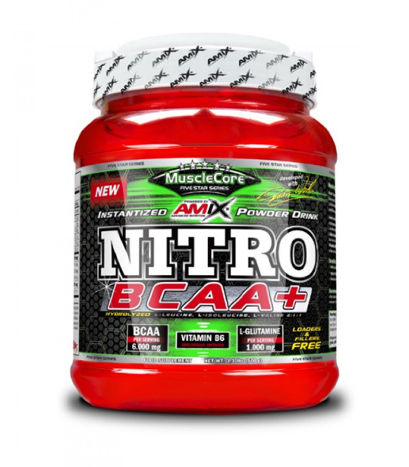 Amix - Nitro BCAA+ / 500g.