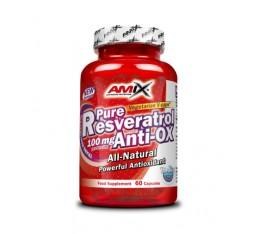 Amix - Pure Resveratrol / 60 Caps. Хранителни добавки, Витамини, минерали и др., Витамин C