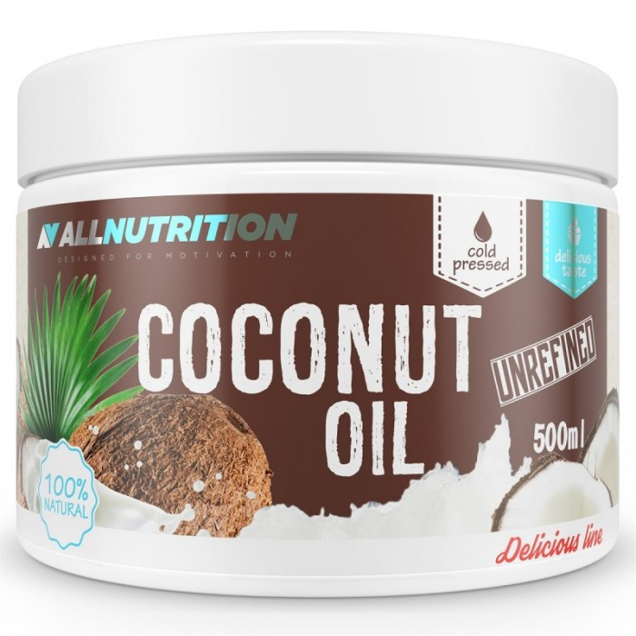 Allnutrition Coconut Oil Unrefined - Кокосово Масло / 500ml