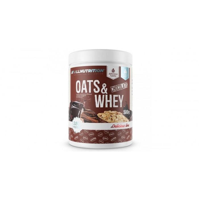 Allnutrition Oats & Whey - Овесени Ядки с Протеин