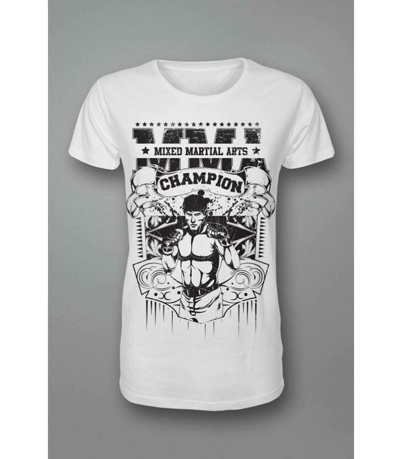 Тениска - ММА - Mixed Martial Arts (black)