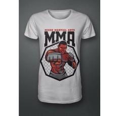 Тениска - ММА - Mixed Martial Arts (red) Тениски