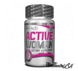 BioTech - Active Woman / 60 tab Хранителни добавки, Витамини, минерали и др., Мултивитамини