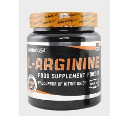 BIOTECH USA - L-Arginine / 300g. Хранителни добавки, Аминокиселини, Аргинин