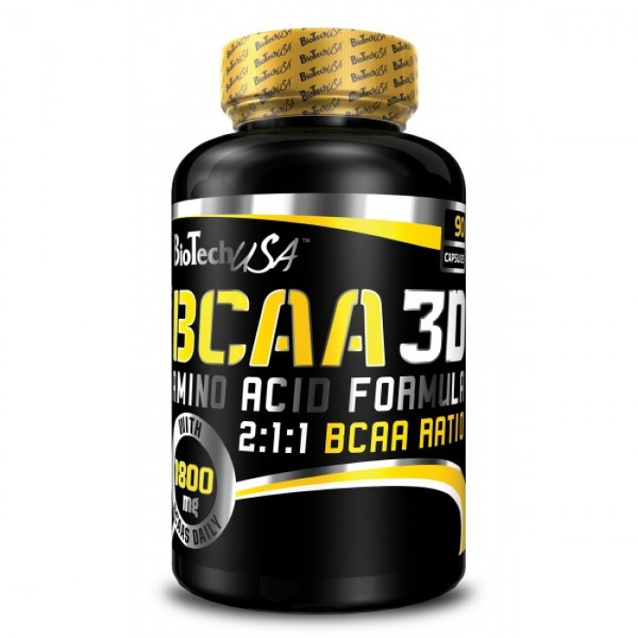 BioTech - BCAA 3D / 90 caps