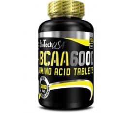 BioTech - BCAA 6000 / 100 tabs Хранителни добавки, Аминокиселини, Разклонена верига (BCAA)