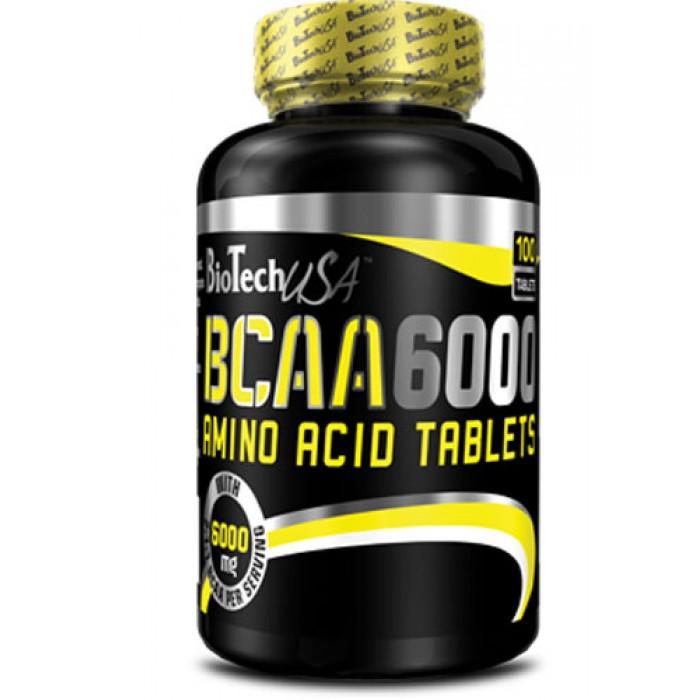 BioTech - BCAA 6000 / 100 tabs