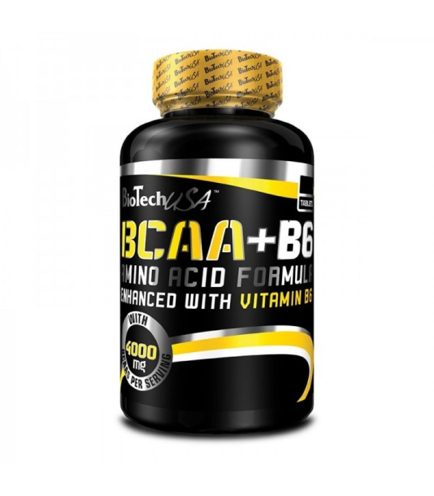 BioTech - BCAA + B6 / 100tabs.