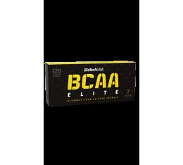 BioTech - BCAA Elite / 120 caps. Хранителни добавки, Аминокиселини, Разклонена верига (BCAA), Хранителни добавки на промоция