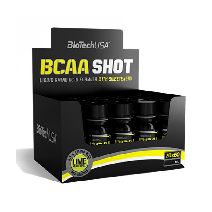 BioTech - BCAA Shot / 20 x 60ml.