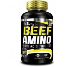 BioTech - Beef Amino / 120 Tabs. Хранителни добавки, Аминокиселини, Телешки аминокиселини