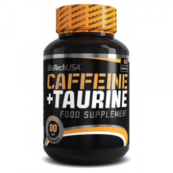 BioTech - Caffeine + Taurine / 60 caps.