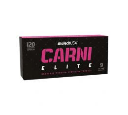 BioTech - Carni Elite / 120 caps.  Хранителни добавки, Отслабване, Л-Карнитин, Хранителни добавки на промоция