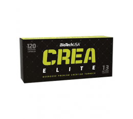 BioTech - Crea Elite / 120 caps. Хранителни добавки, Креатинови продукти, Креатинови Матрици, Хранителни добавки на промоция