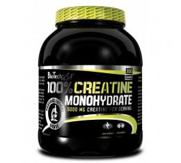 BioTech - 100% Creatine Monohydrate / 300 gr. Хранителни добавки, Креатинови продукти, Креатин Монохидрат