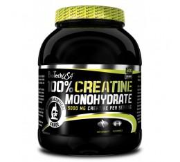 BioTech - 100% Creatine Monohydrate / 500 gr. Хранителни добавки, Креатинови продукти, Креатин Монохидрат
