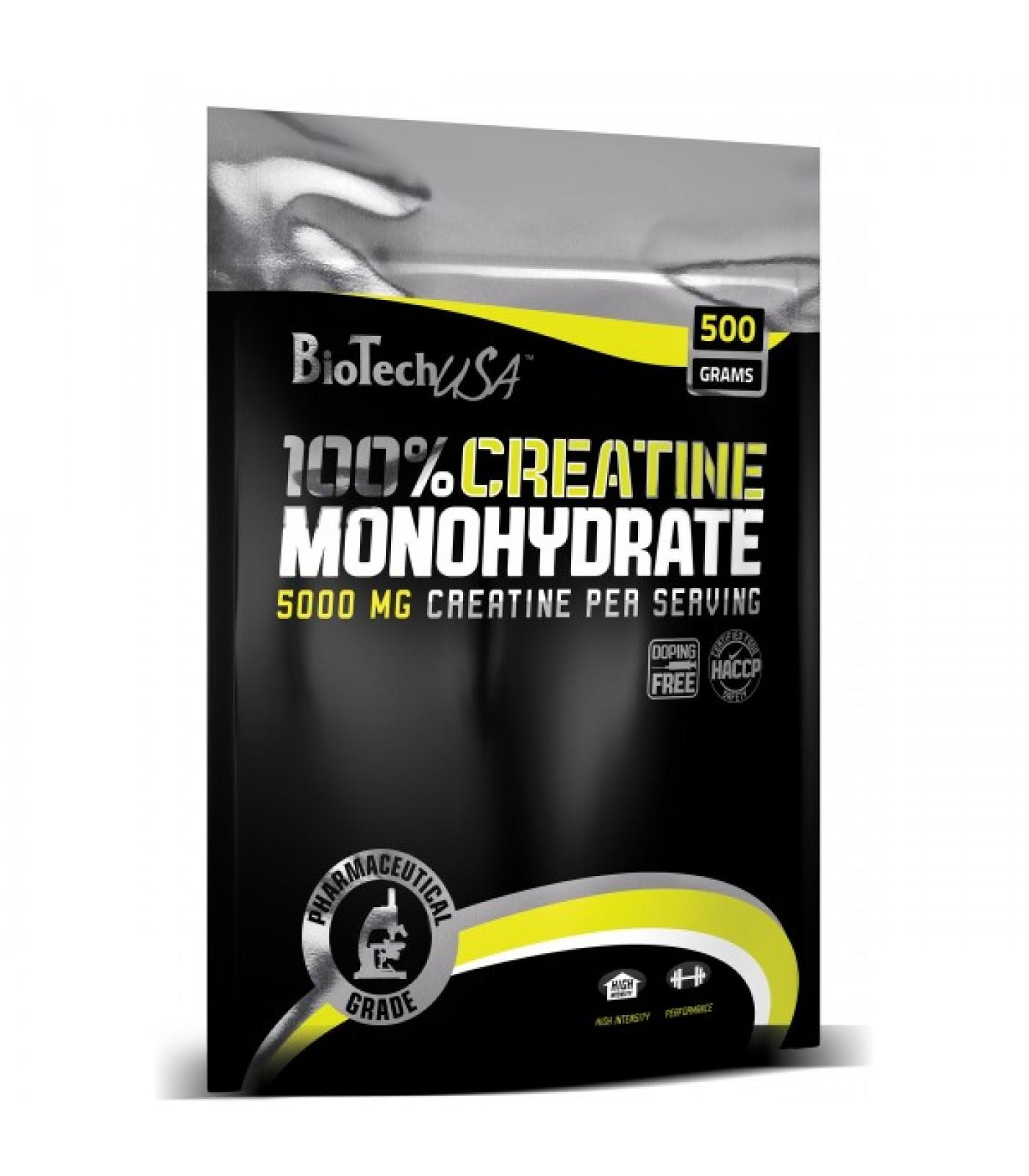 BioTech - 100% Creatine Monohydrate /пакет/ / 500gr