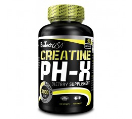 BioTech - Creatine pH-X / 90 caps.