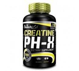 BioTech - Creatine pH-X / 90 caps. Хранителни добавки, Креатинови продукти, Креатин Монохидрат