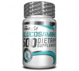 BioTech - Glucosamine 500 / 60caps. Хранителни добавки, За стави и сухожилия