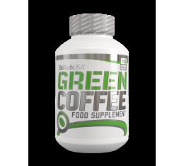 BIOTECH - Green Coffee / 120 Caps. Хранителни добавки, Отслабване, Кофеин