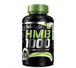 BioTech - HMB 1000 / 180 tab Хранителни добавки, Енергийни продукти