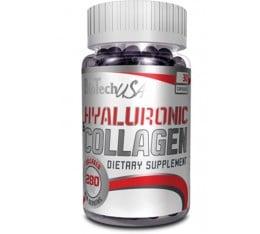 BioTech - Hyaluronic & Collagen / 30 caps Хранителни добавки, За стави и сухожилия