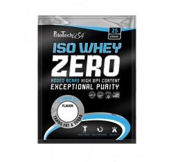 BioTech - 100% Iso Whey Zero / 25 gr. Хранителни добавки, Протеини, Протеинови матрици