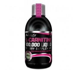BioTech - L-Carnitine 100 000 / 500ml. Хранителни добавки, Отслабване, Л-Карнитин