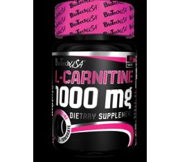 BioTech - L-Carnitine 1000mg. / 60 tabs. Хранителни добавки, Отслабване, Л-Карнитин