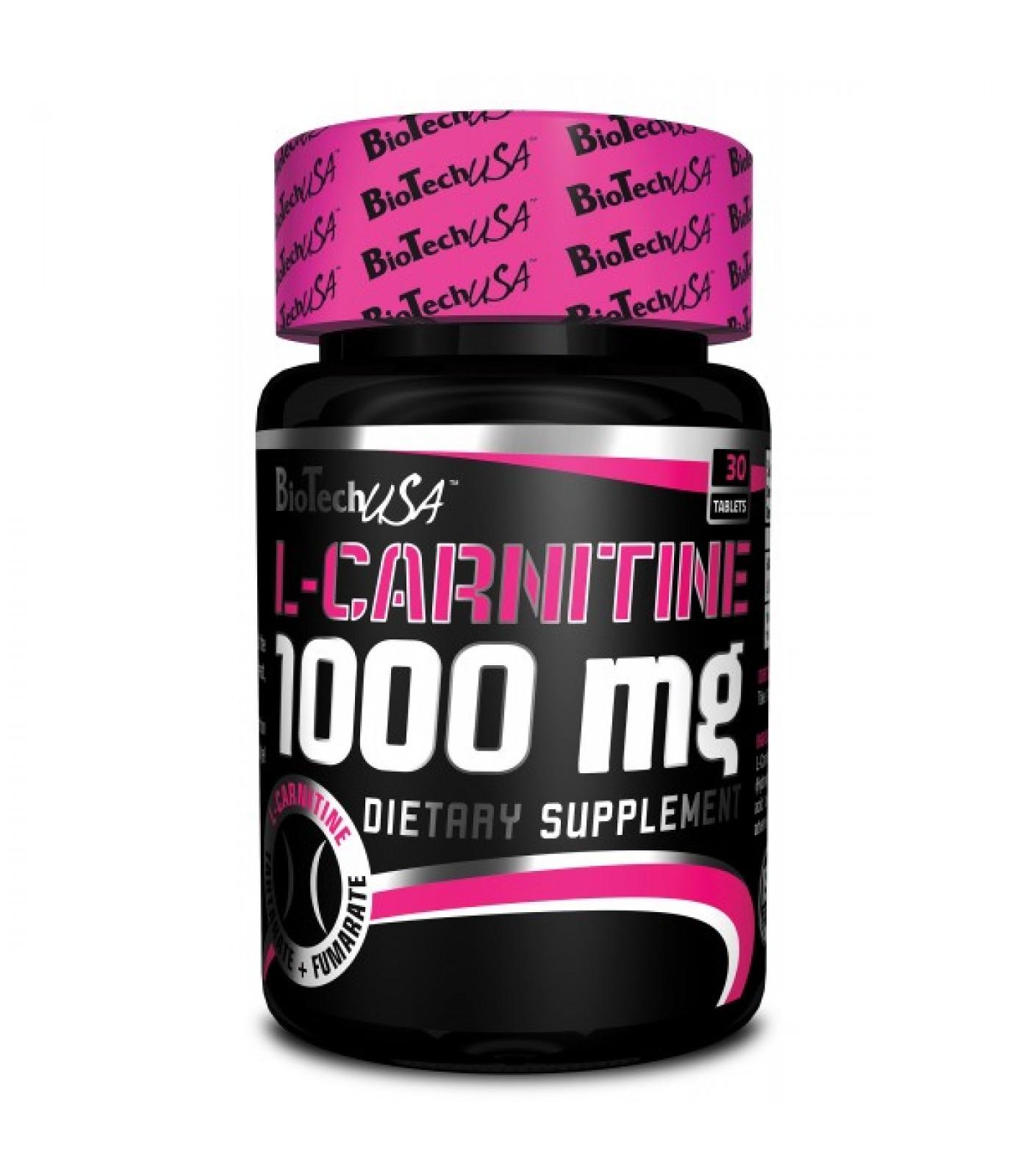 BioTech - L-Carnitine 1000mg. / 30tabs.