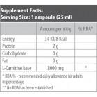BioTech - L-Carnitine 2000mg. / 20 ампули
