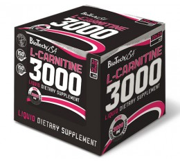 BioTech - L-Carnitine 3000mg. / 20amps x 25ml.